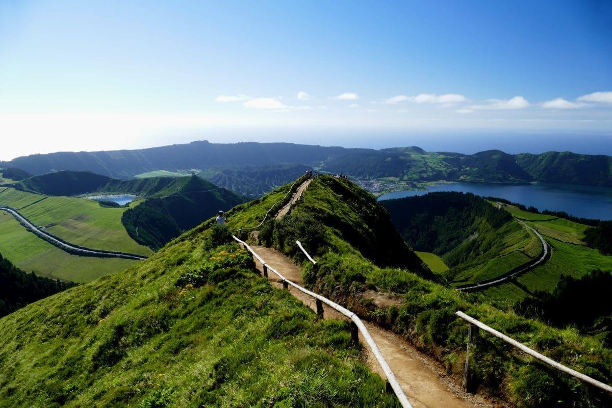 Sete Cidades sur Sao Miguel (Açores)