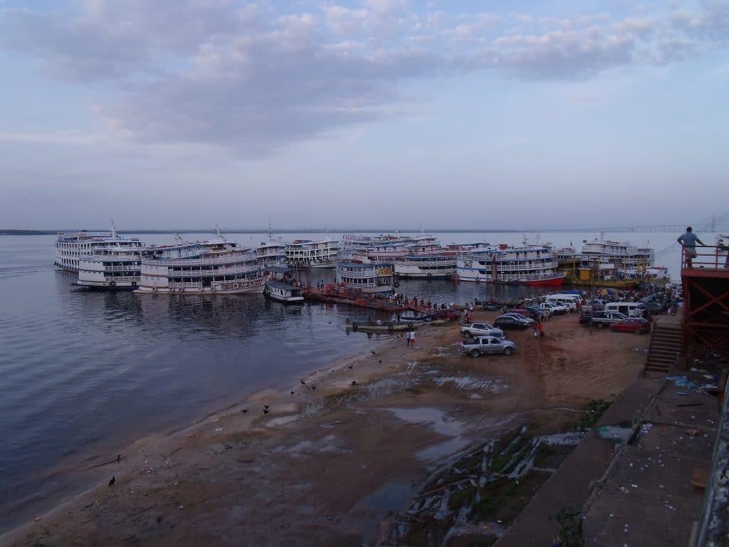 Embarcadère de Manaus