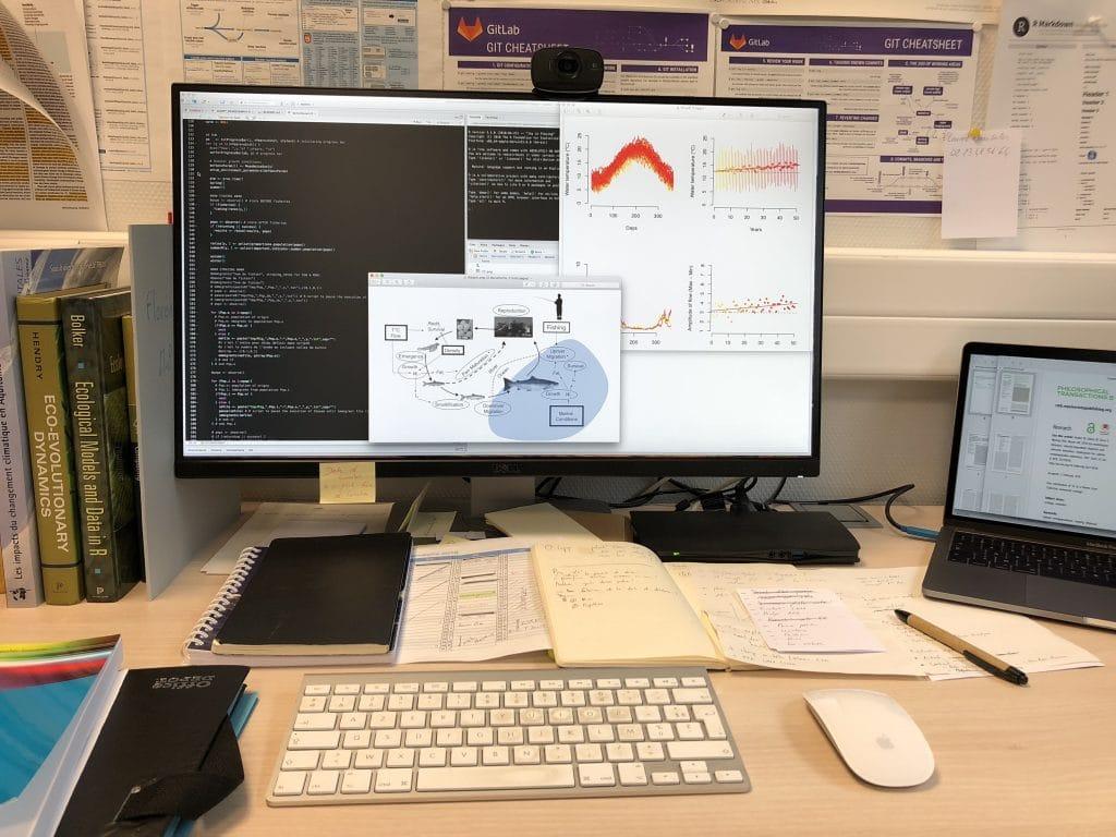 Un travail sur ordinateur pour mener des expérimentations virtuelles
