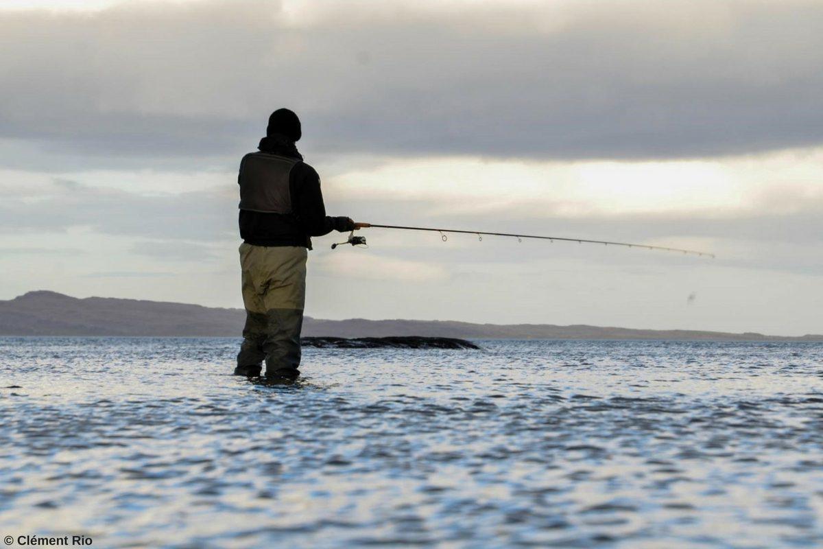 Pêche à la Truite © Clément Rio