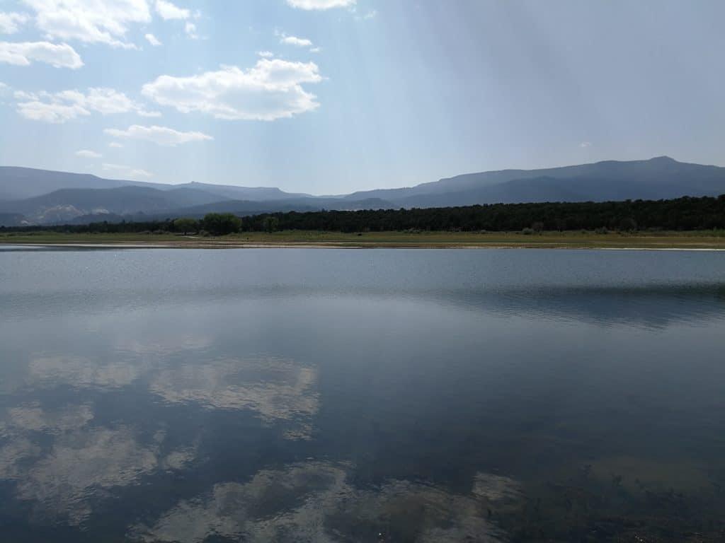 Pêche sur le Lower Bowns Reservoir dans l'Utah