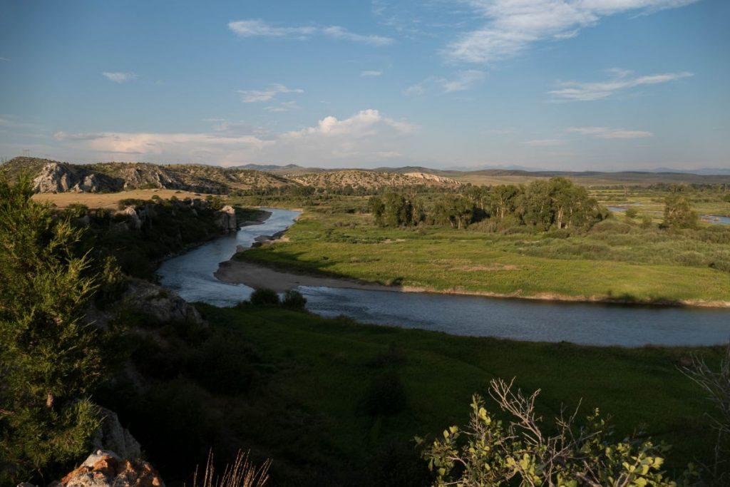 Rivière Gallatin, dans le Missouri Headwaters State Park