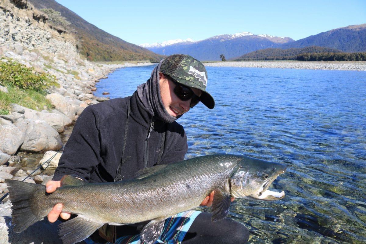 Pêche de la truite en Nouvelle-Zélande sur les îles du sud