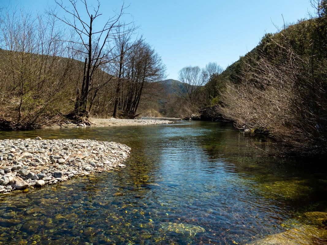 La rivière Hérault dans le Gard