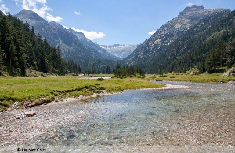Pêche en Hautes-Pyrénées, aux alentours du Pont d'Espagne