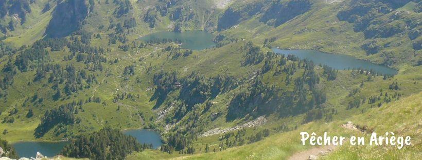 Pêche en lac de montagne en Ariège
