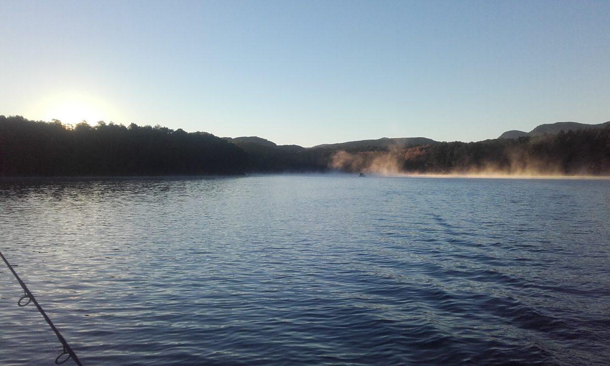 La pêche du carnassier dans l'Aude sur le lac de Montbel