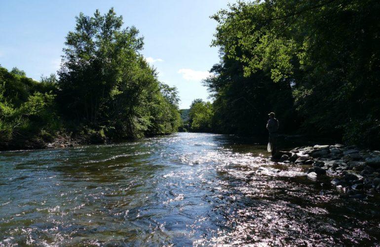 Pêche de la truite et de l'ombre sur Aude