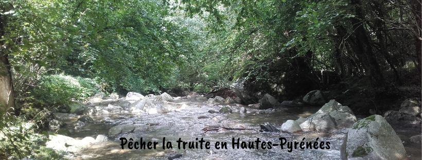 rivière des Hautes-Pyrénées, paradis pour la pêche de la truite