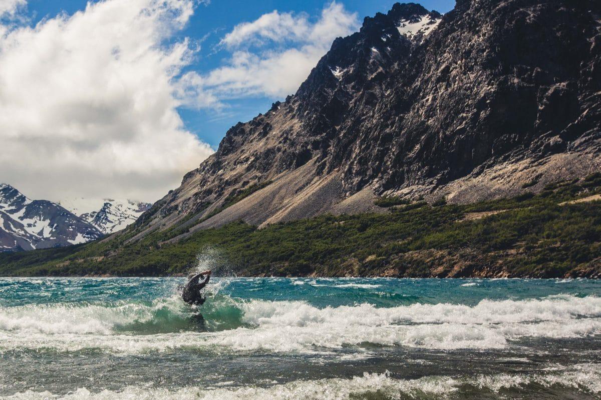 Pêche sur la Laguna Ibanez en Patagonie chilienne