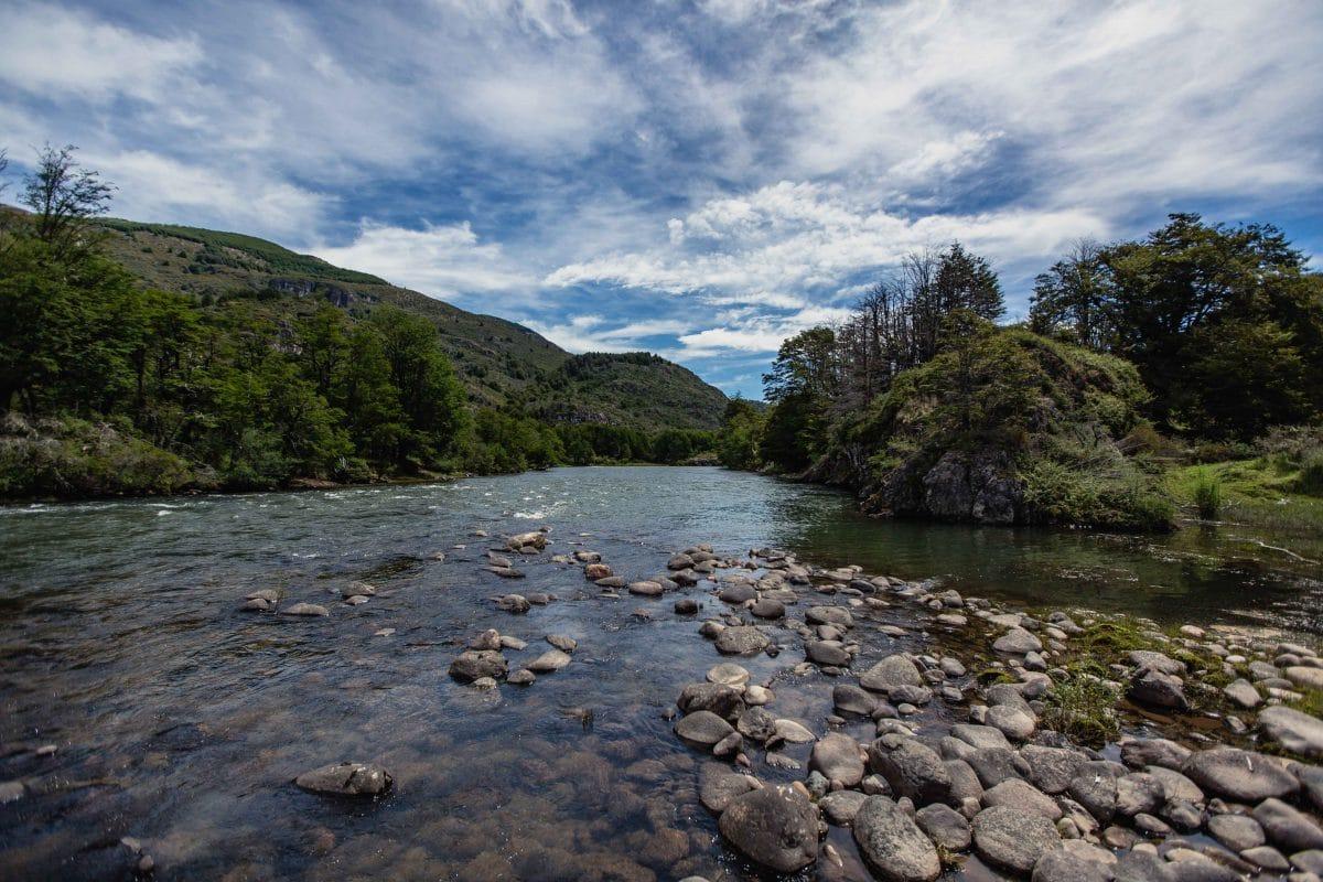 Une rivière typique du sud du Chili