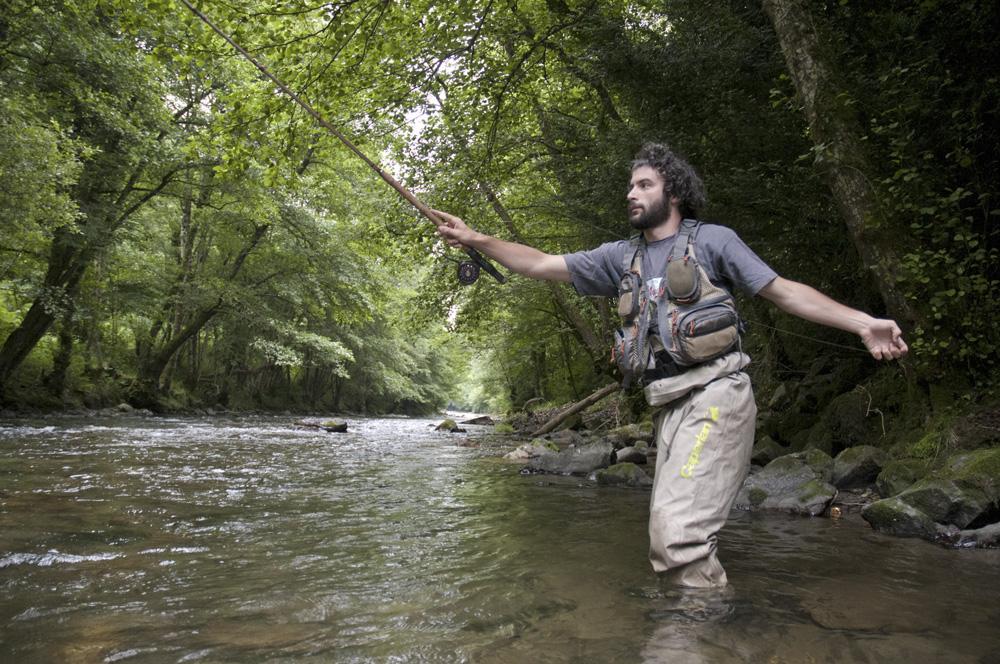 Pêche au toc sur l'Ariège