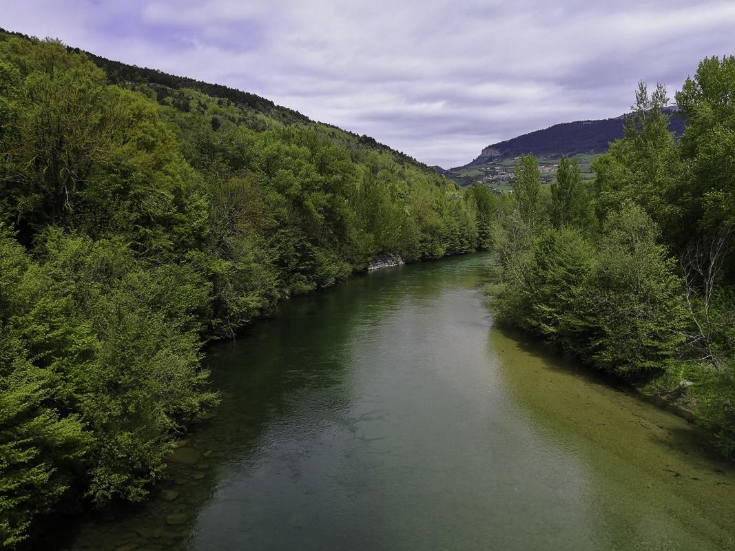 Pêche de la truite sur le Tarn en amont de Millau