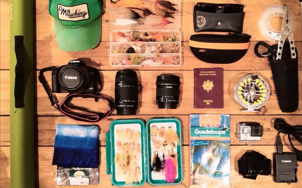 Préparatifs pour le voyage en Guadeloupe