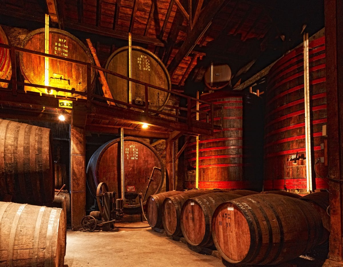Chai dans le Gers, pour la fabrication d'Armagnac