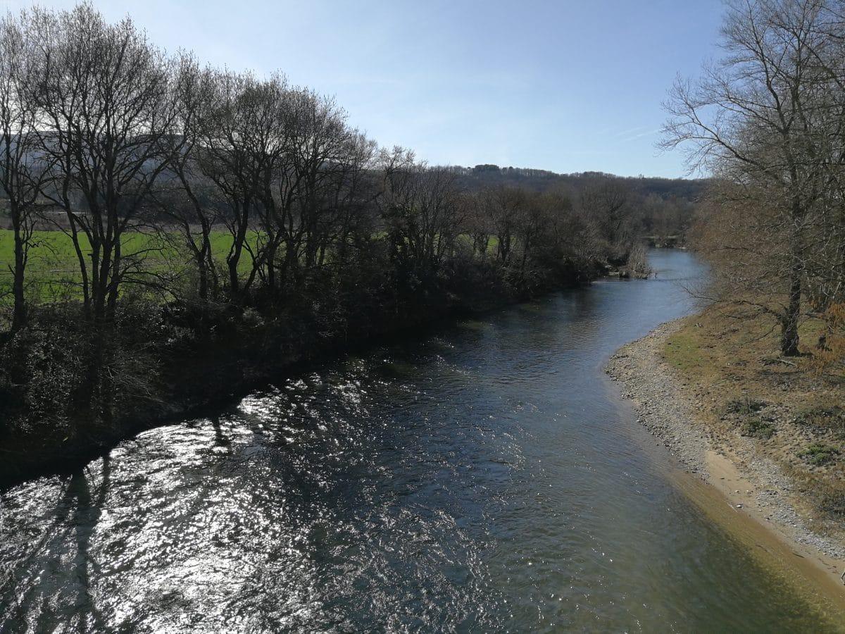 Pêche dans le Tarn sur le Thoré