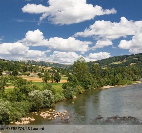 Pêche sur la rivière Tarn