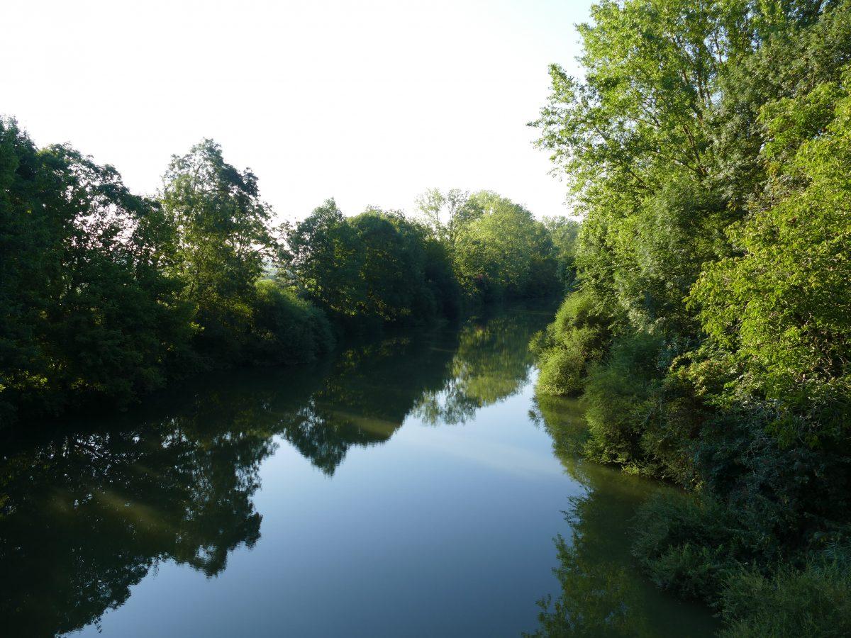Pêche sur la Baïse en Lot-et-Garonne