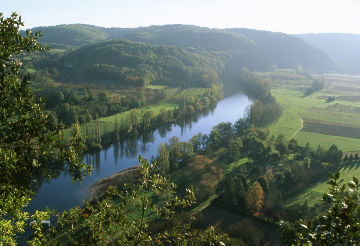Vallée de la Dordogne à Vézac