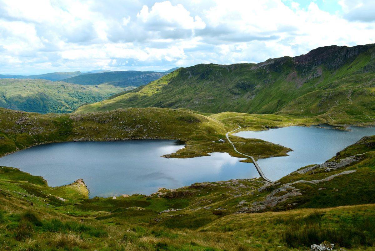 Pêche en lacs dans le Parc Snowdonia au Pays de Galles