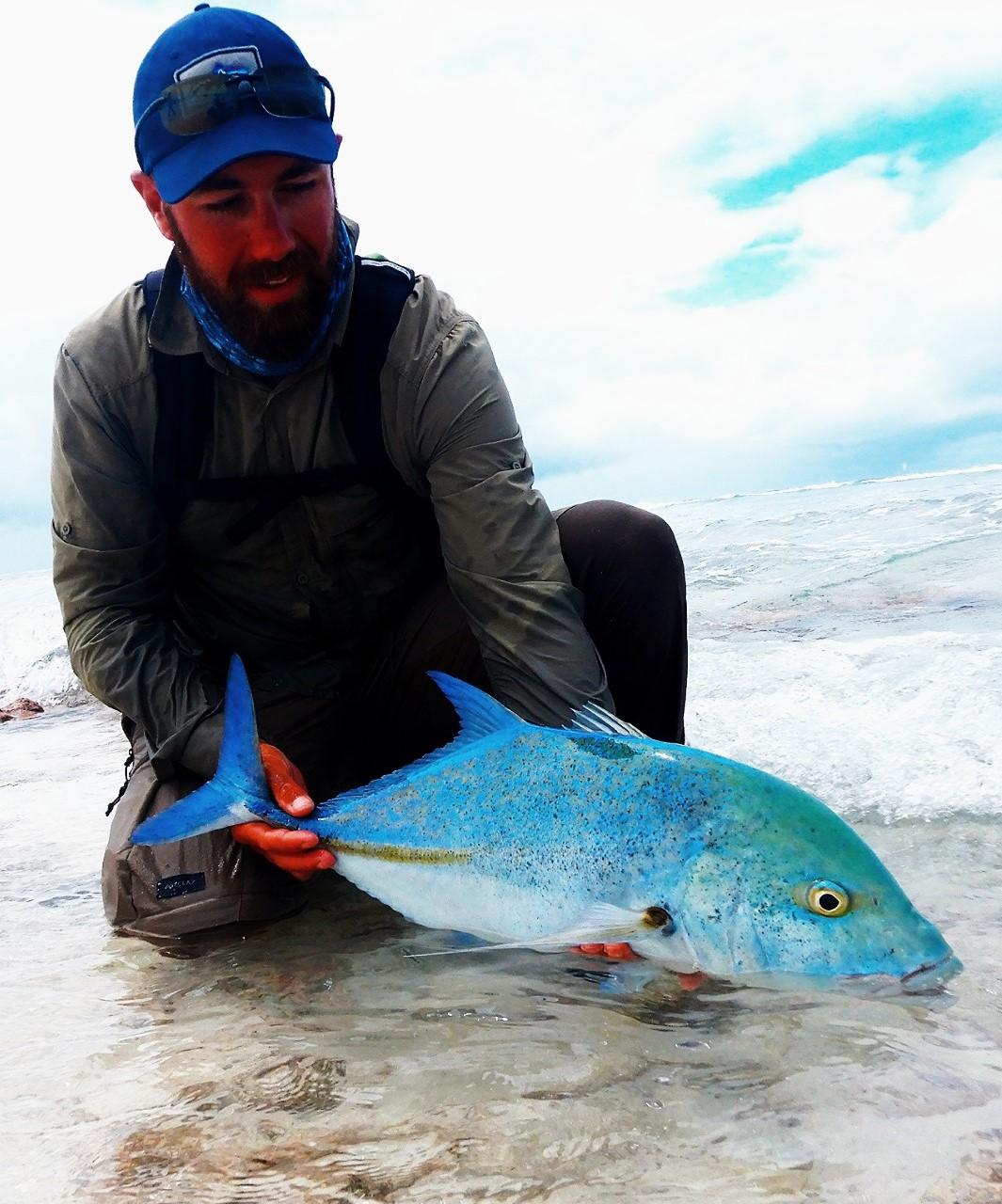 peche à la mouche sur Kiribati