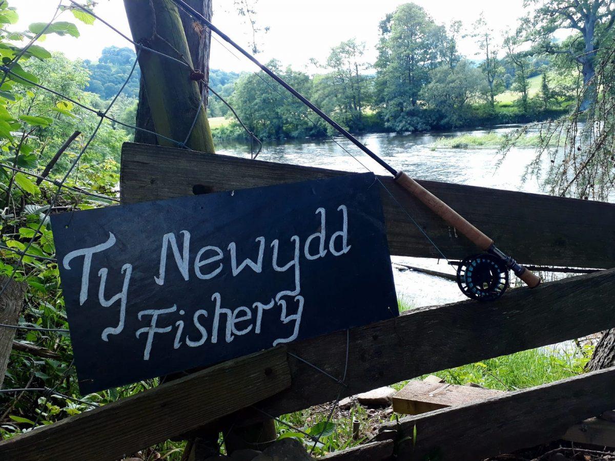 Pêche à la mouche sur la rivière Wye