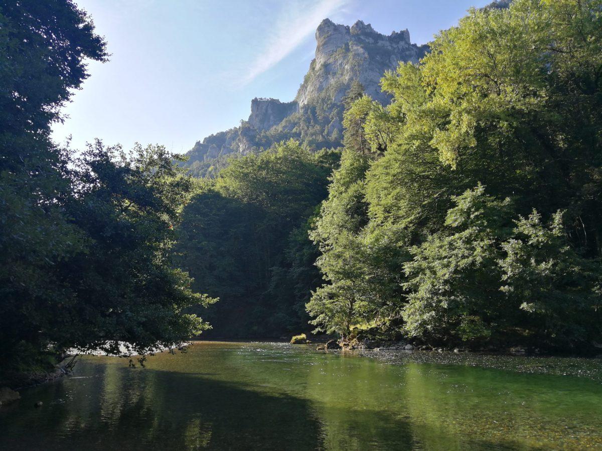 Pêche en Lozère sur la rivière Tarn